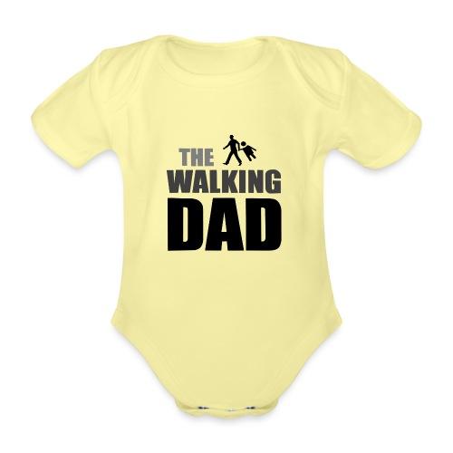 the walking dad auf dem Weg in die lustige Bar - Baby Bio-Kurzarm-Body