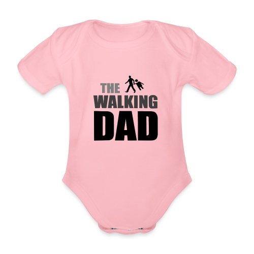 the walking dad auf dem Weg in die lustige Bar - Baby Bio-Kurzarm-Body