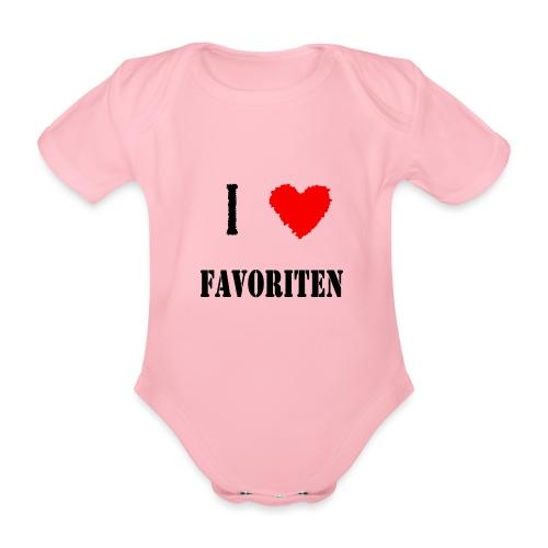 ich liebe favoriten - Baby Bio-Kurzarm-Body