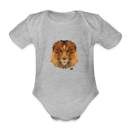CM Lion - Baby Bio-Kurzarm-Body