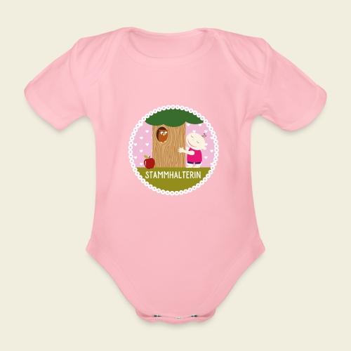 Stammhalterin - Baby Bio-Kurzarm-Body