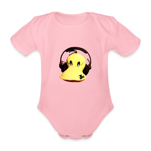 Jaques Raupé Ente - Baby Bio-Kurzarm-Body