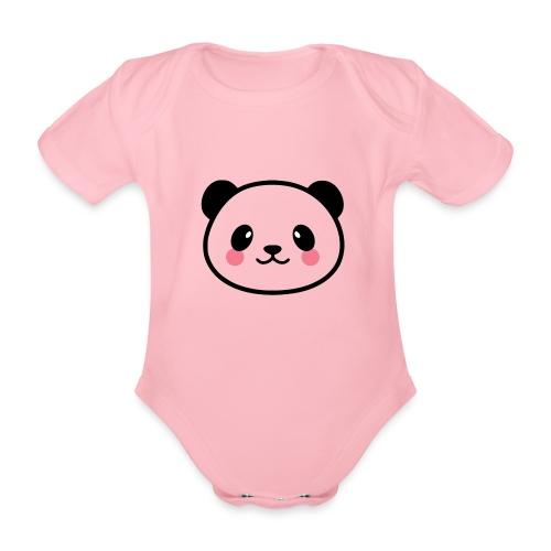 Panda Tout Rond - Body Bébé bio manches courtes
