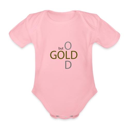 old but gold - Baby Bio-Kurzarm-Body