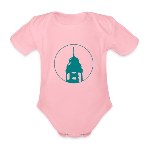 Neckarstadtblog Logo - Baby Bio-Kurzarm-Body