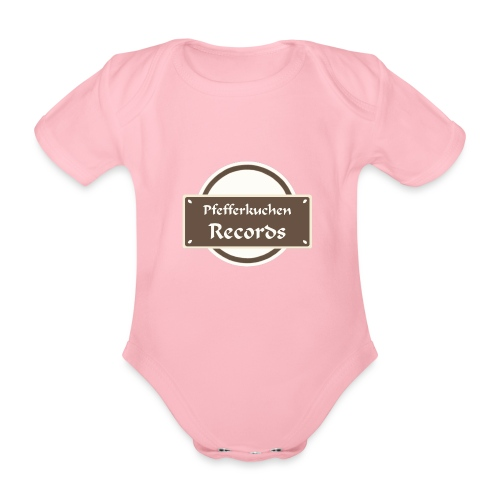 Pfefferkuchen Records Label - Baby Bio-Kurzarm-Body