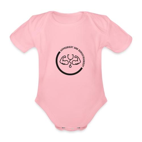 Approbiert und durchtrainiert (DR4) - Baby Bio-Kurzarm-Body