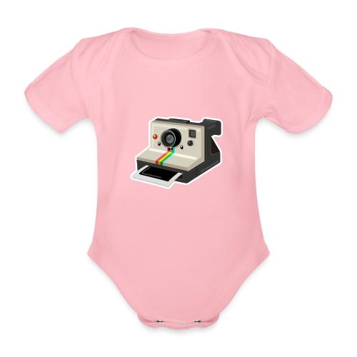 Polaroid 1000 kawaii - Body Bébé bio manches courtes
