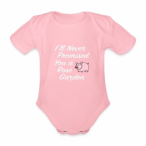 Hauskat Possu paidat, tekstiilit- ja lahjatuotteet - Vauvan lyhythihainen luomu-body