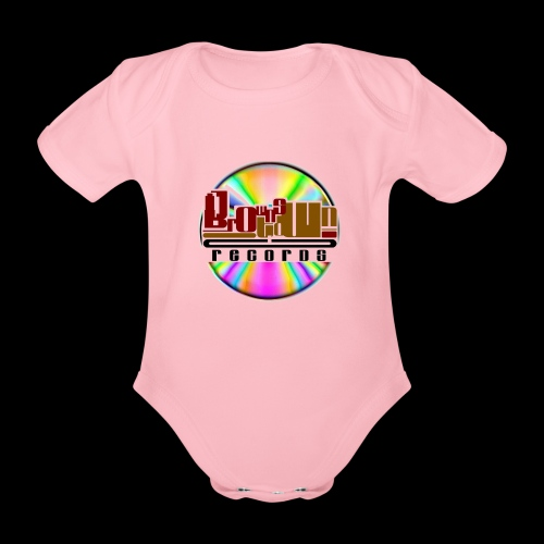 BROWNSTOWN RECORDS - Organic Short-sleeved Baby Bodysuit