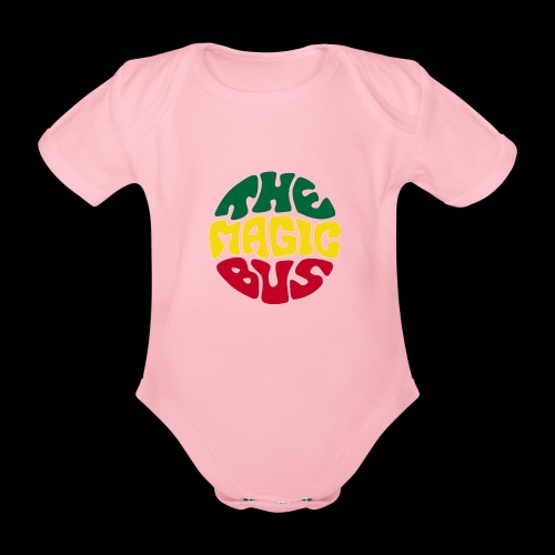 THE MAGIC BUS - Organic Short-sleeved Baby Bodysuit