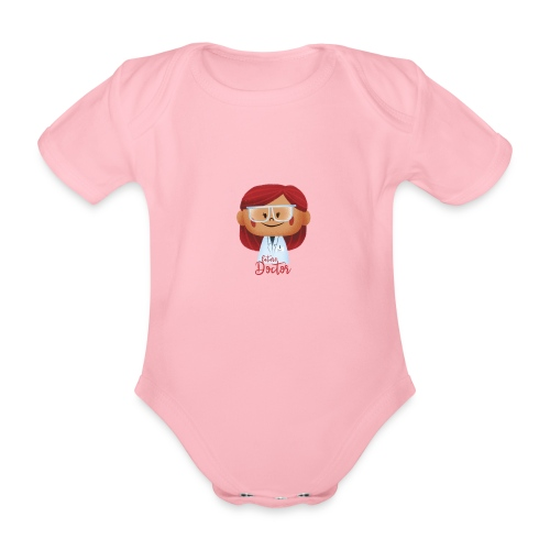 Peekaboo Females -The Doctor - Kortærmet babybody, økologisk bomuld
