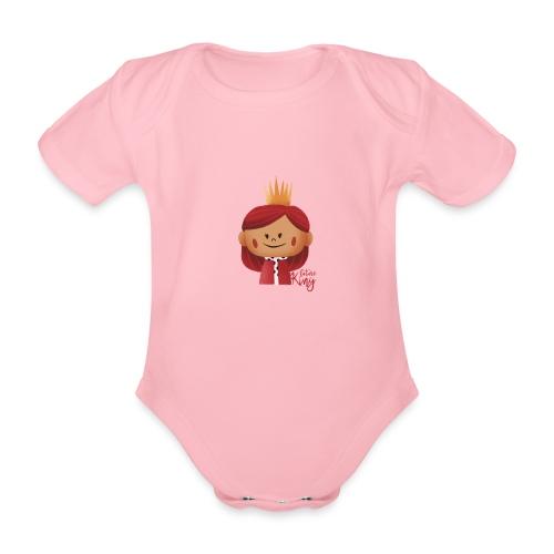 Peekaboo Females -The King - Kortærmet babybody, økologisk bomuld