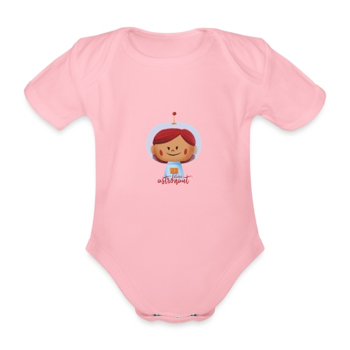 Peekaboo Females - The Astronaut - Kortærmet babybody, økologisk bomuld