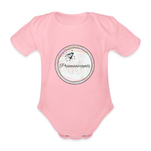 Princesasroyals - Baby Bio-Kurzarm-Body