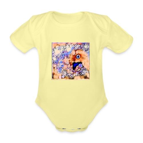 ST@RbiRD - Kortærmet babybody, økologisk bomuld