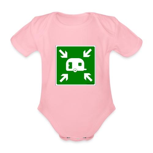 Meeting Point Caravan - Baby Bio-Kurzarm-Body