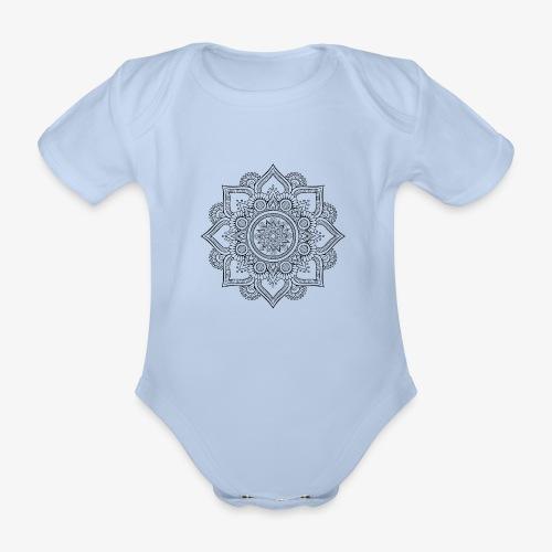 Mandala - Organic Short-sleeved Baby Bodysuit