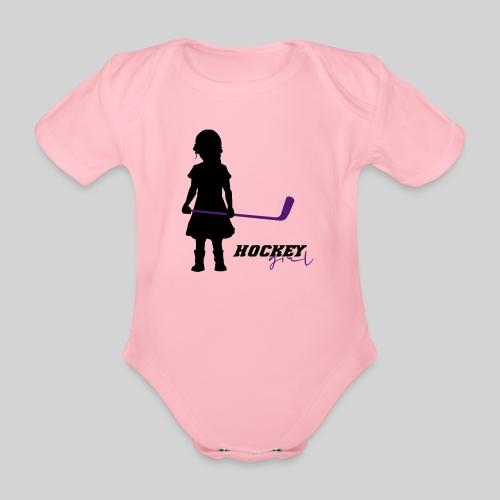Hockey Girl I - Baby Bio-Kurzarm-Body