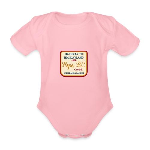 Rambo Hope Holidayland - Ekologiczne body niemowlęce z krótkim rękawem