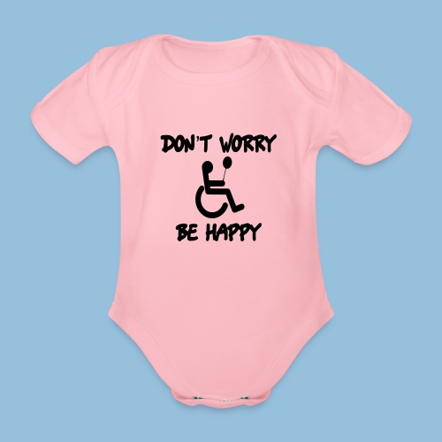 dontworry - Baby bio-rompertje met korte mouwen
