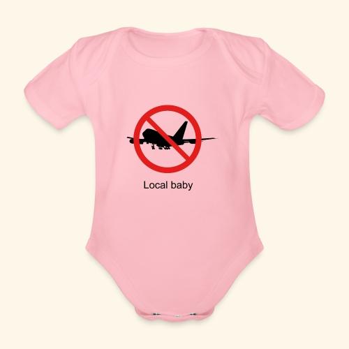 local baby - Organic Short-sleeved Baby Bodysuit
