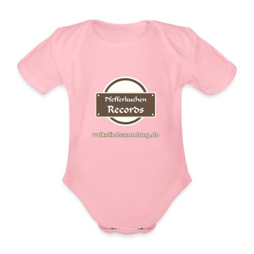 Pfefferkuchen Records Label - Volksliedsammlung - Baby Bio-Kurzarm-Body