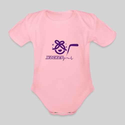 Hockey Girl II - Baby Bio-Kurzarm-Body