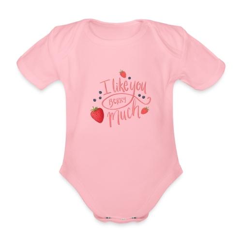 Like you berry much - Ekologisk kortärmad babybody