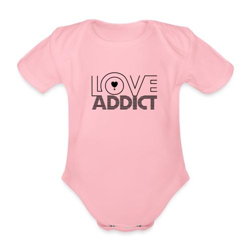 LOVE ADDICT - Body Bébé bio manches courtes