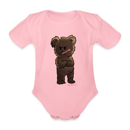 Fieber-Bär - Baby Bio-Kurzarm-Body