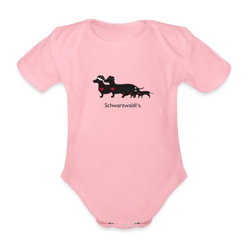 Familie Schwarzwaldi - Baby Bio-Kurzarm-Body