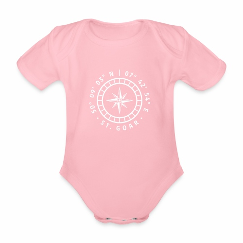 Kompass St. Goar - Baby Bio-Kurzarm-Body