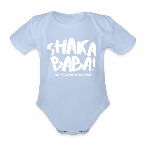 shaka - Vauvan lyhythihainen luomu-body