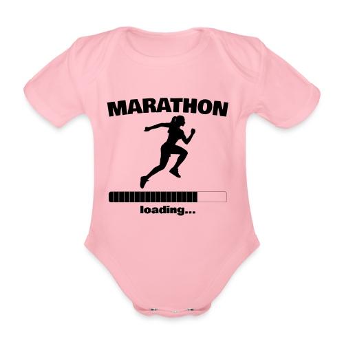 Marathon loading... Baby Motiv - Baby Bio-Kurzarm-Body