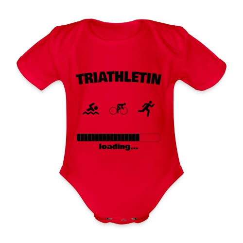 Triathletin loading... Baby Motiv - Baby Bio-Kurzarm-Body
