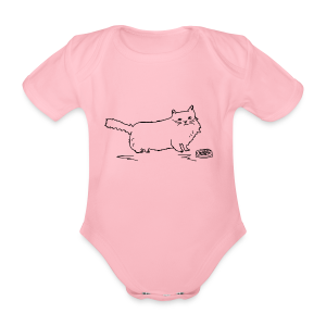 CAT Collection - Økologisk kortermet baby-body