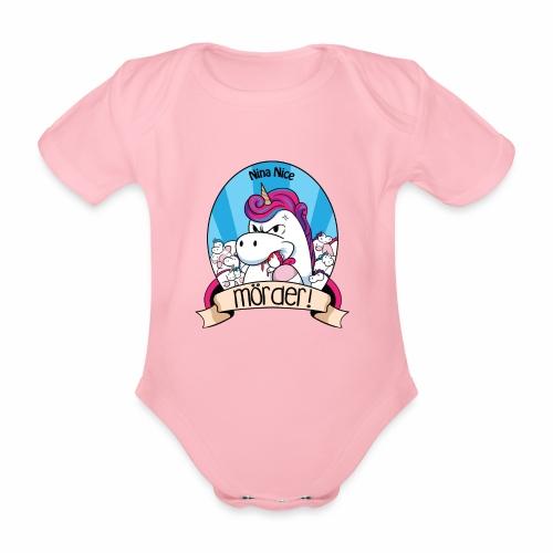 Murder Unicorn - Baby Bio-Kurzarm-Body
