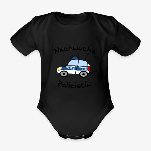 nachwuchs polizistin - Baby Bio-Kurzarm-Body