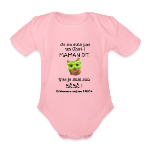 O'Malley le Bébé ! - Body Bébé bio manches courtes