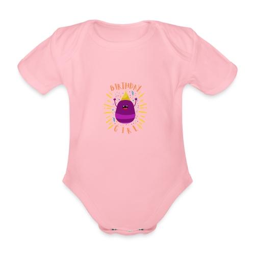 Geburtstagskind Mädchen - Baby Bio-Kurzarm-Body