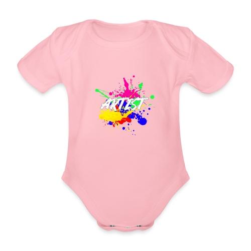 Montrez que vous êtes un Artiste International - Body Bébé bio manches courtes