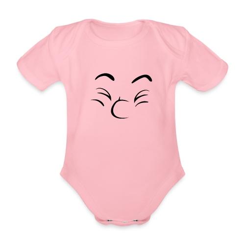 Bonne humeur - Body Bébé bio manches courtes