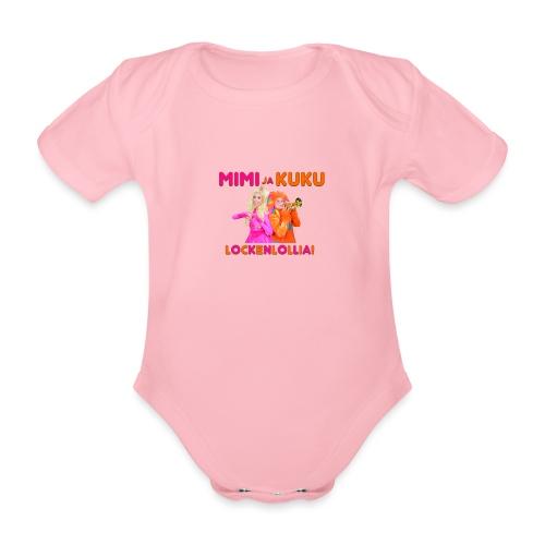 Mimi ja Kuku Lockenlollia - Vauvan lyhythihainen luomu-body