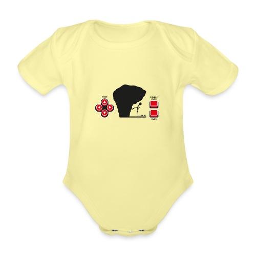 Climber Telespiel - Baby Bio-Kurzarm-Body