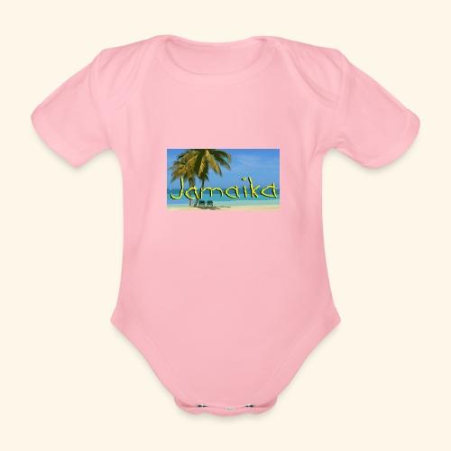 JAMAIKA - Baby Bio-Kurzarm-Body