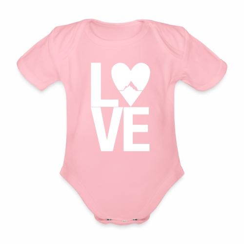 Mountain Love - Baby Bio-Kurzarm-Body