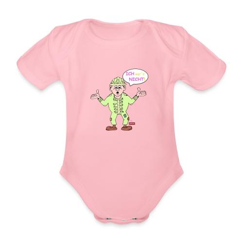 patame Zwuckel Ich wars nicht! Rosa - Baby Bio-Kurzarm-Body