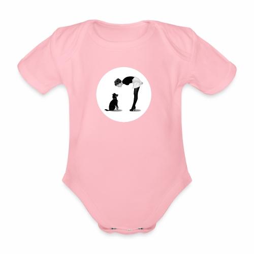 Chica - Organic Short-sleeved Baby Bodysuit