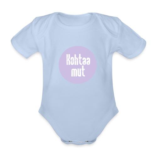 Kohtaa mut - Vauvan lyhythihainen luomu-body